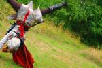 Assassins Creed Ezio Cosplay by shadowhatesomochao