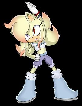 CM: Azalea the hedgehog Sonic Channel Style by shadowhatesomochao
