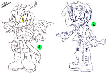 Sonic Adoptables #26 - Nr. 1 OPEN by shadowhatesomochao