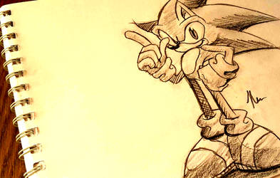 Sonic traditional (+ Video) by shadowhatesomochao
