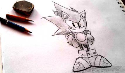 Classic Sonic (+ Video) by shadowhatesomochao