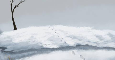 Quiet Winter by onestarmarcher
