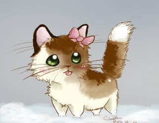 Chibi Kitty by onestarmarcher