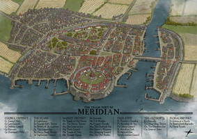 Meridian Town Map by jonpintar