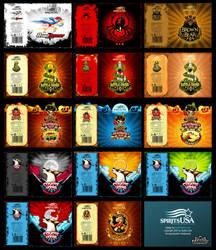 Packaging: Spirits USA by SOSFactory