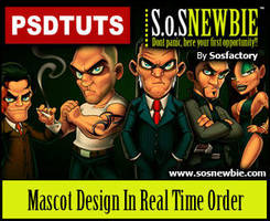 Mascot design Tutorial by SOSFactory