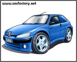 Peugeot 106 o0 Cool Style 0o by SOSFactory