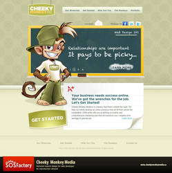 Cheeky Monkey Media by SOSFactory