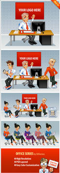 Stock design: Office illustration by SOSFactory