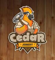 Mascot logo for Cedar Joinery. by SOSFactory