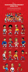 WorldCup Rusia 2018 Mascot designs by SOSFactory