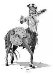 Female Centaur by MiaSteingraeber