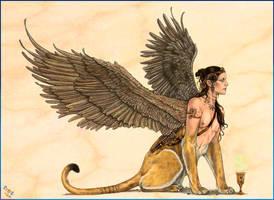 Sphinx by MiaSteingraeber