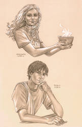 Demigod Sketches by MiaSteingraeber