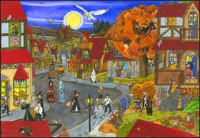 Hogsmeade Halloween by MiaSteingraeber