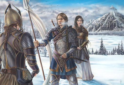 Guards of Barad Eithel by MiaSteingraeber