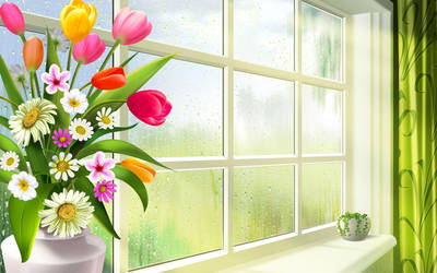Nice Window by kissofdead06