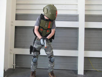 Titanfall Cosplay (Taking Cover) by doubleoaidan