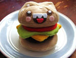 Freakin happy burger by manriquez