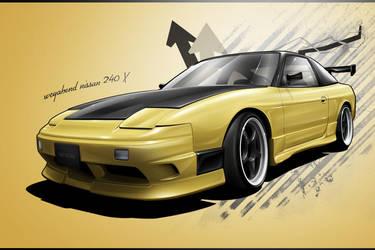 nissan 240x by wegabond