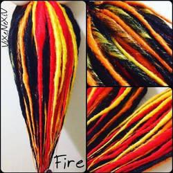 Synthetic Fire Falls by ViXeNeXiV