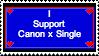 Support Canon x Single version 2 by Xarti