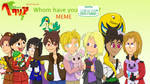 Whom Have I Streetpassed Meme by Xarti