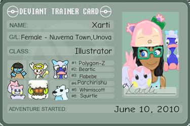 Deviant Trainer ID Xarti by Xarti