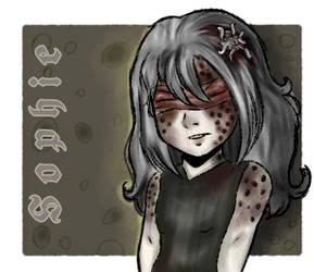 Creepypasta OC:Sophie by BloodyMoon243