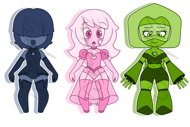 (CLOSED) Gemmlings by ZombiAdopts