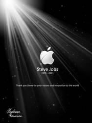 Tribute - Steve Jobs by ColorfulArtist86