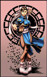 Chun-li color by logicfun