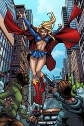 Supergirl by logicfun