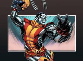 X-Men Colossus by logicfun