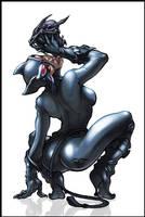 Catwoman by logicfun