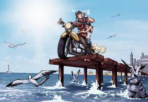 Great Teacher Onizuka by logicfun