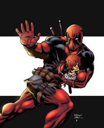 Deadpool by logicfun