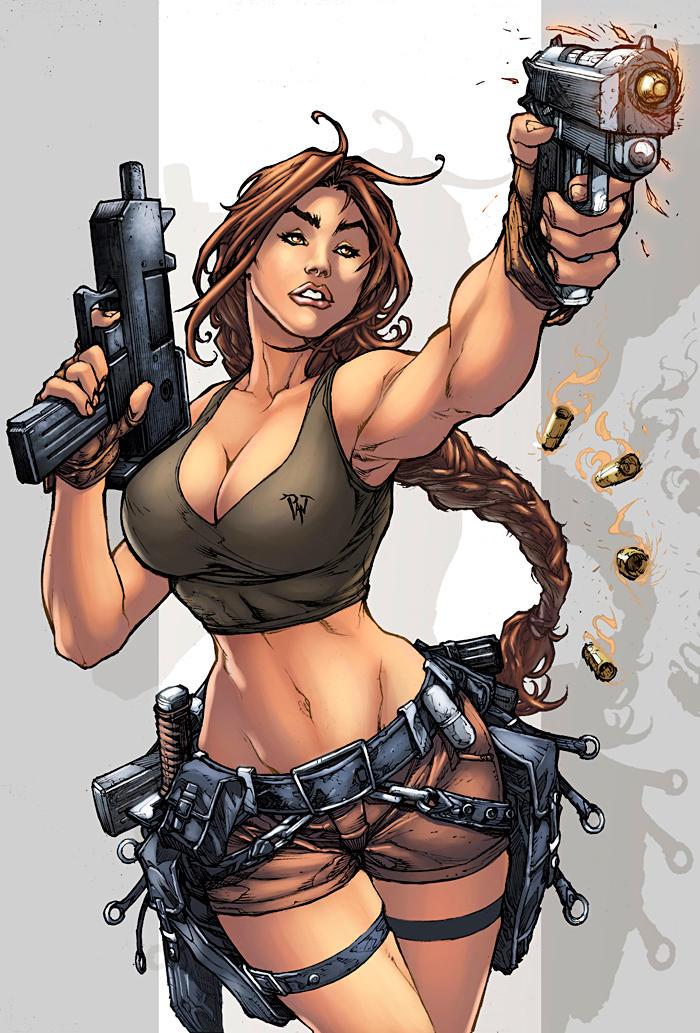 Tomb Raider strikes again by logicfun