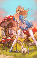 Wonderland annual color by logicfun