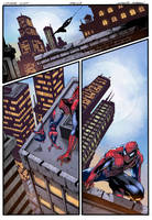 Spider-Man Page color by logicfun