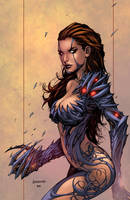 Witchblade Color by logicfun