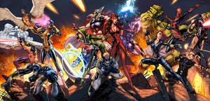 Uncanny Avengers Color by logicfun