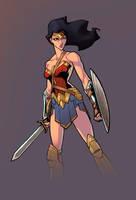 Wonder-woman Color by logicfun
