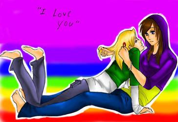 Lesbian love by Kiangel