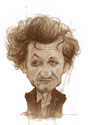 Sean Penn by StDamos