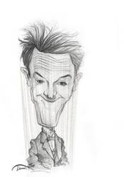 Stan Laurel caricature sketch by StDamos