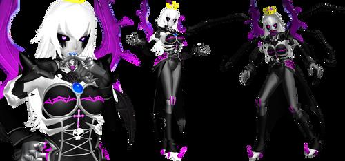 [MMD] Queen Booette (Luigi's Mansion) by DrStinger