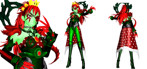 [MMD] Petey Piranhette (Super Mario) by DrStinger