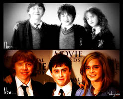 Harry Potter: then and now by MIKEYCPARISII