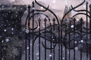 the light beyond the black gate by Tegori